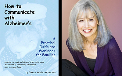 How to Communicate with Alzheimer's Book Cover and Author Susan Kohler